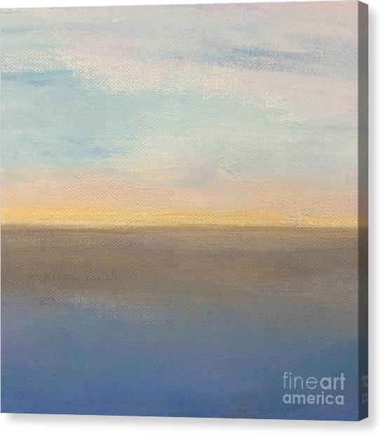 Horizon Aglow Canvas Print