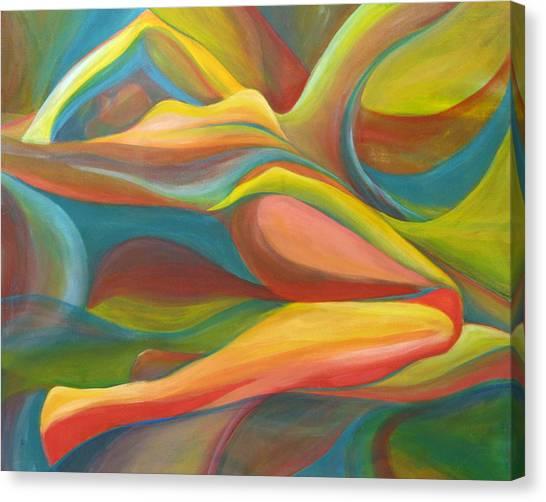 Horizon Peace Will Come Canvas Print