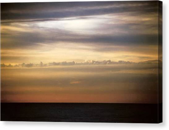 Horizontal Number 11 Canvas Print by Sandra Gottlieb