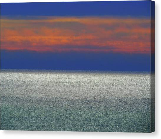 Horizontal Sunset Canvas Print