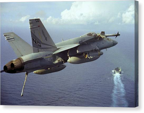 Hornet's Nest Canvas Print by Aviation Heritage