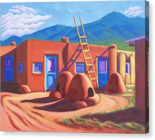 Horno De Pan Taos Canvas Print