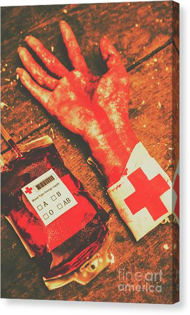 Bombs Canvas Print - Horror Hospital Scenes by Jorgo Photography - Wall Art Gallery