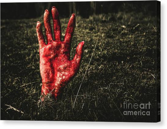 Revival Canvas Print - Horror Resurrection by Jorgo Photography - Wall Art Gallery