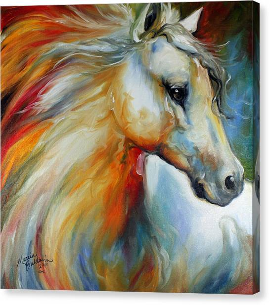 Horse Angel No 1 Canvas Print