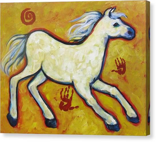 Horse Indian Horse Canvas Print
