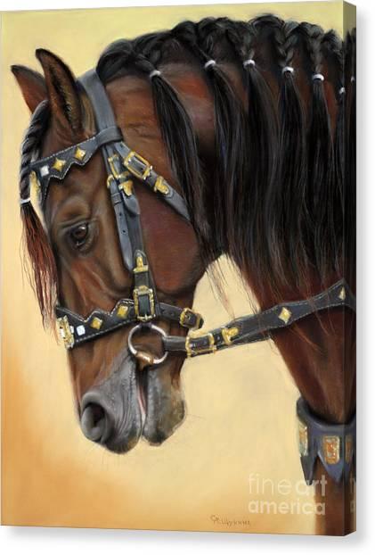 Canvas Print - Horse Portrait  by Svetlana Ledneva-Schukina