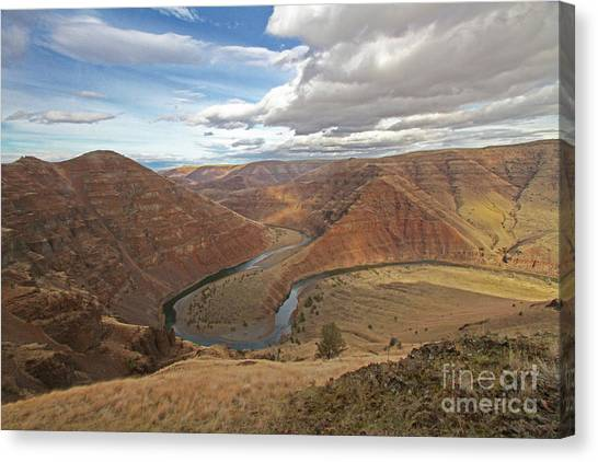 Canvas Print - Horse Shoe Bend by Gary Wing