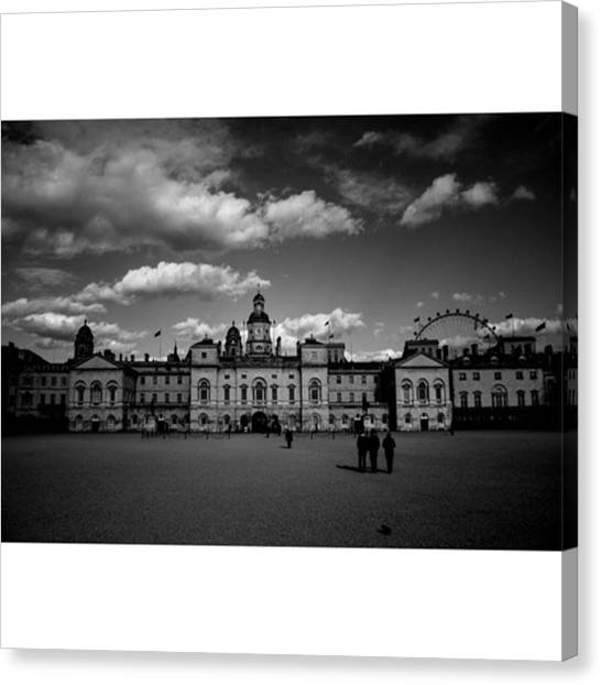 London Canvas Print - #horseguards #london #thisislondon #uk by Ozan Goren