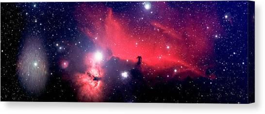 Horsehead Nebula Panorama Canvas Print