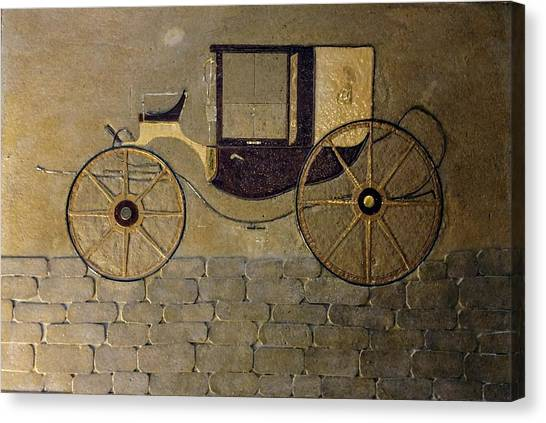 Horseless Carriage Canvas Print