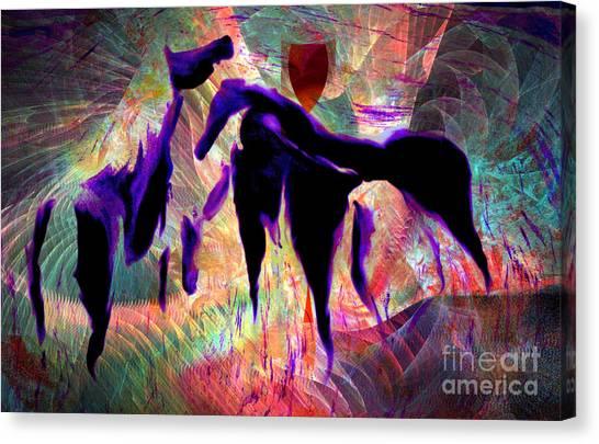 Horses 13 Canvas Print