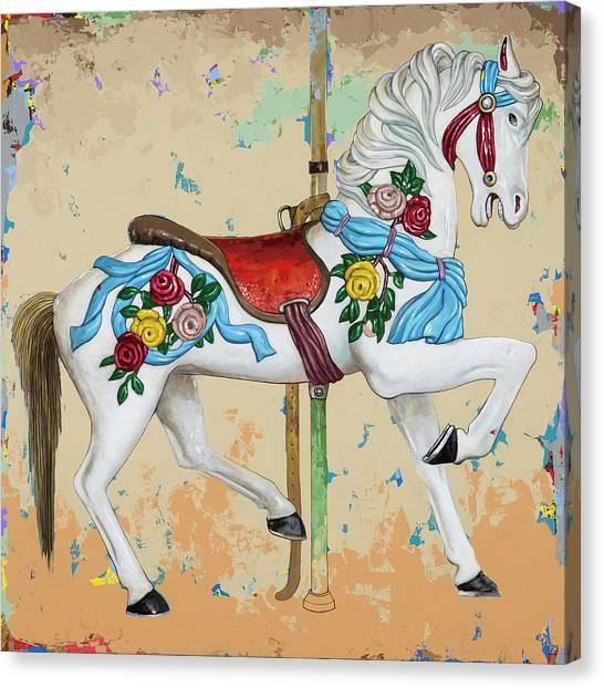 Horses #7 Canvas Print