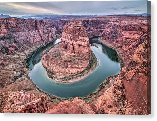 Horseshoe Bend Arizona Canvas Print