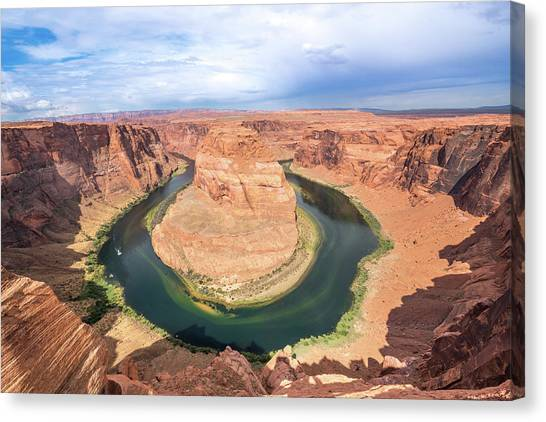 Grand Canyon Canvas Print - Horseshoe Bend by Fink Andreas