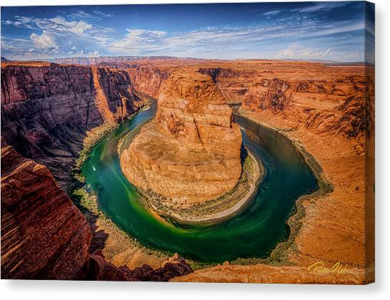 Horseshoe Bend Canvas Print