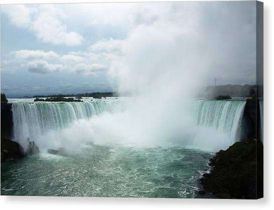 Horseshoe Falls Canvas Print