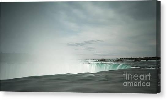 Horseshoe Falls Canvas Print - Horseshoe Falls by DiFigiano Photography