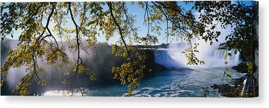 Horseshoe Falls Canvas Print - Horseshoe Falls Niagara Falls Ny by Panoramic Images