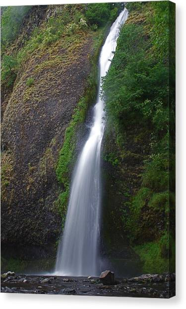 Horsetail Falls Canvas Print