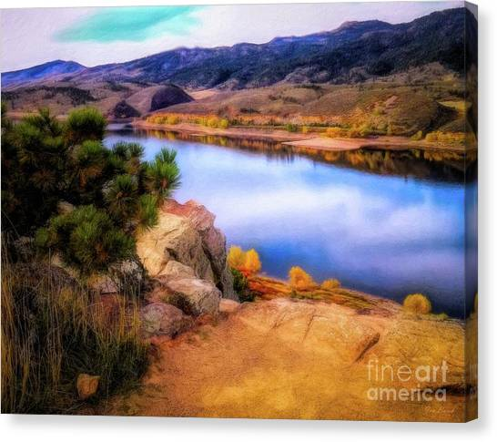 Horsetooth Lake Overlook Canvas Print