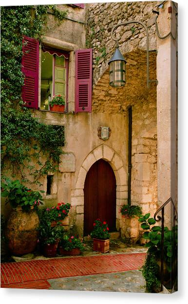 Hostelliere Canvas Print