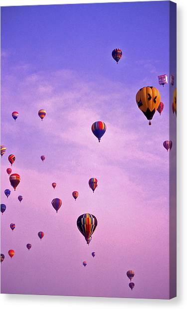 Hot Air Balloon - 13 Canvas Print by Randy Muir