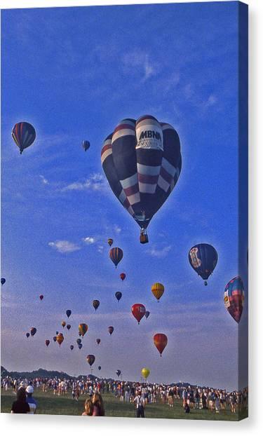 Hot Air Balloon - 14 Canvas Print by Randy Muir