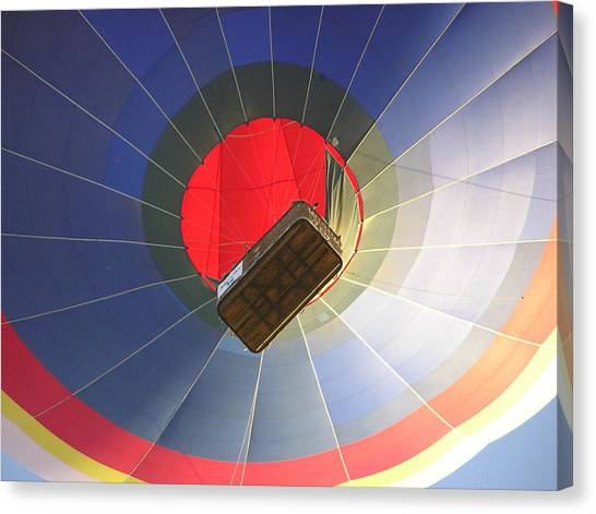 Hot Air Balloon Canvas Print by Richard Mitchell
