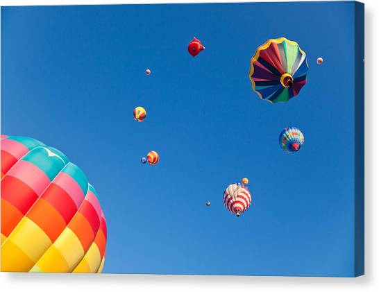 Hot Air Balloons 9 Canvas Print