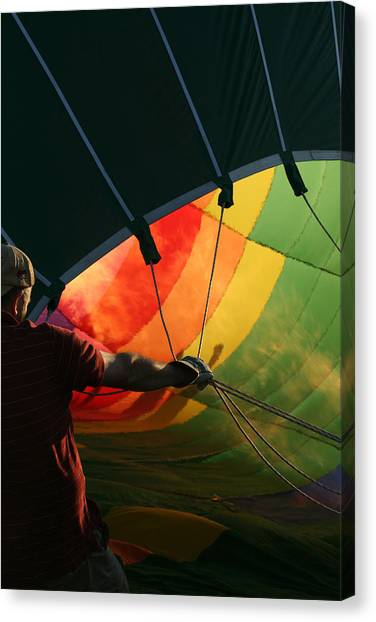 Hot Air Balloons Canvas Print - Hot Air by Heather Classen