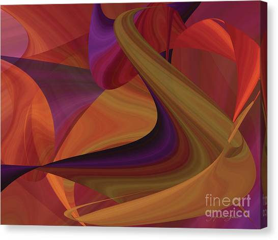 Hot Curvelicious Canvas Print