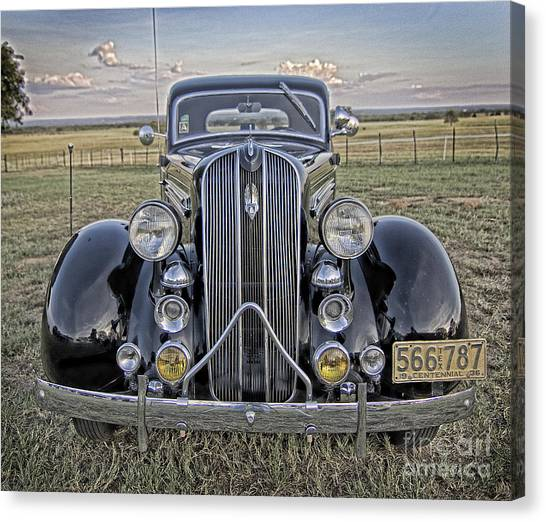 Hot Off The Grill Canvas Print