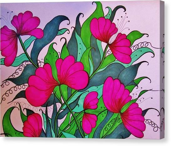 Hot Pink  Canvas Print