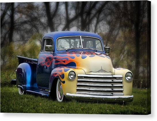 Hot Rod Truck Canvas Print