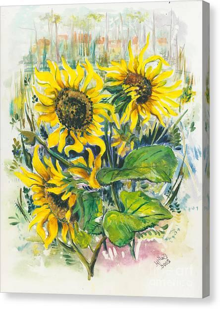 Hot Summer Day 3 Canvas Print by Elisabeta Hermann