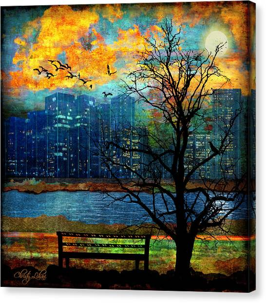 Hot Summer Nights Canvas Print