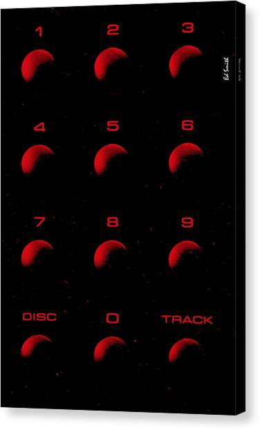 Hot Tracks Canvas Print
