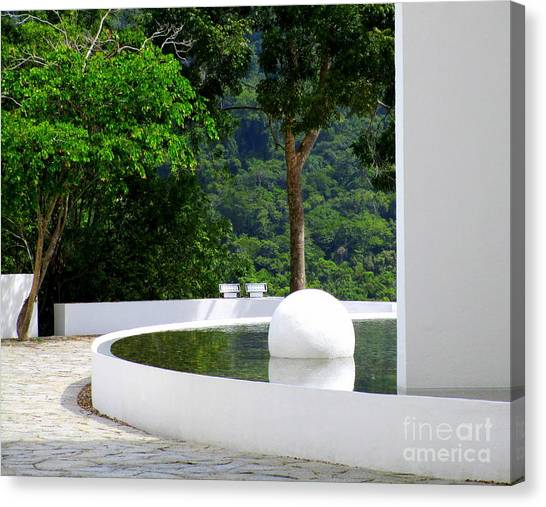 Acapulco Canvas Print - Hotel Encanto 12 by Randall Weidner