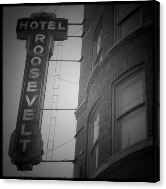 Hotel Roosevelt Canvas Print