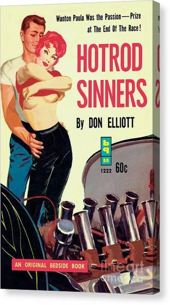 Hotrod Sinners Canvas Print
