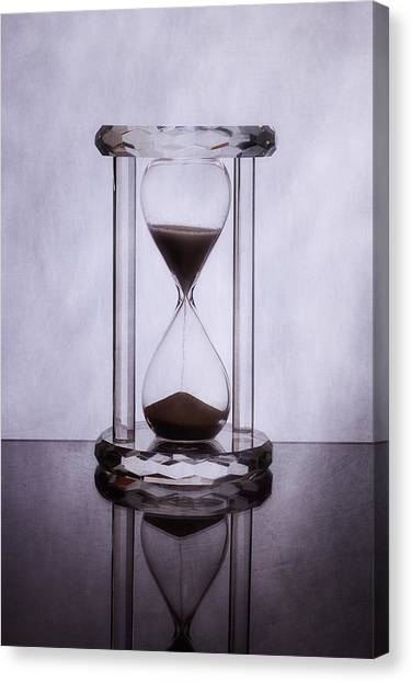 Presents Canvas Print - Hourglass - Time Slips Away by Tom Mc Nemar