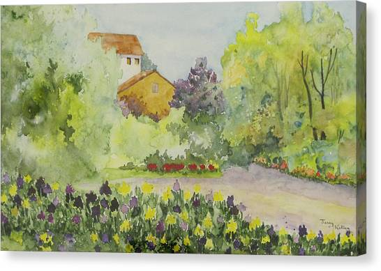 House And Garden Canvas Print