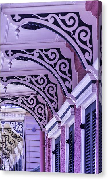 Architectural Detail Canvas Print - House Details by Garry Gay