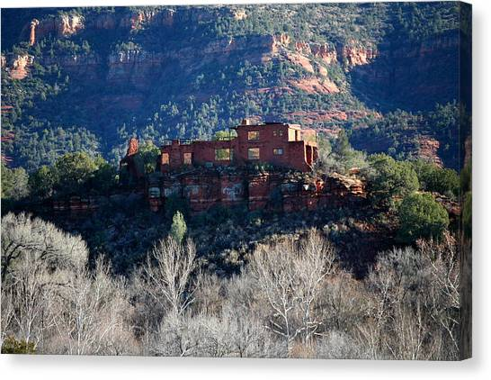House Of Apache Fires Canvas Print by Jennilyn Benedicto
