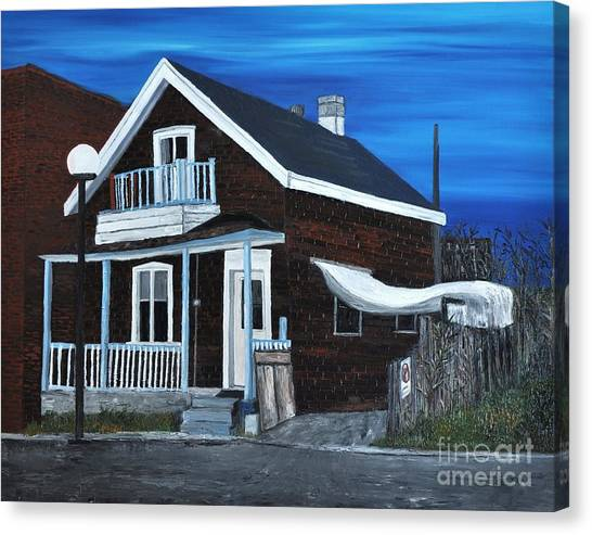 House On Hadley Street Canvas Print