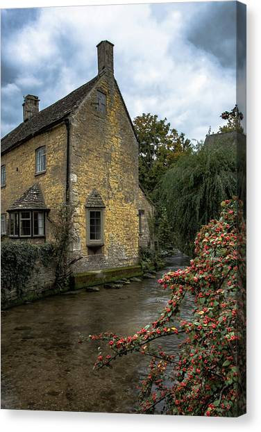 House On The Water Canvas Print