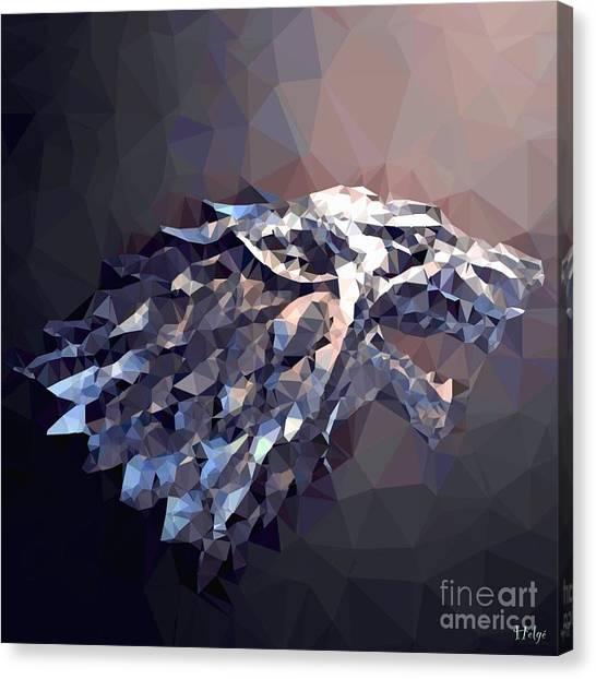 House Stark Canvas Print
