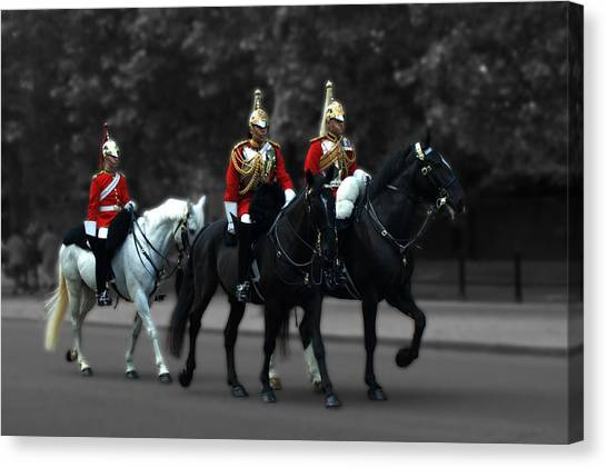 Household Cavalry Canvas Print
