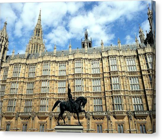 Houses Of Parliament Canvas Print by Dmytro Toptygin
